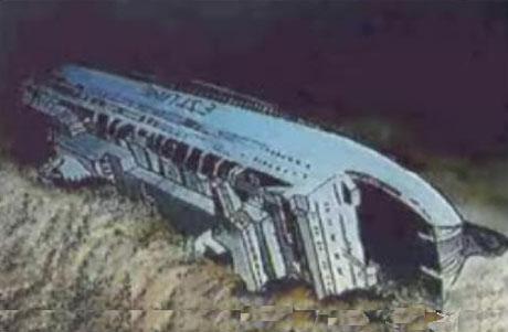 Titanic Uppoamispaikka